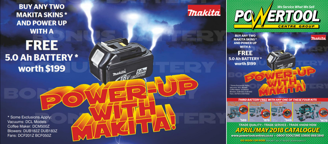 makita battery promo