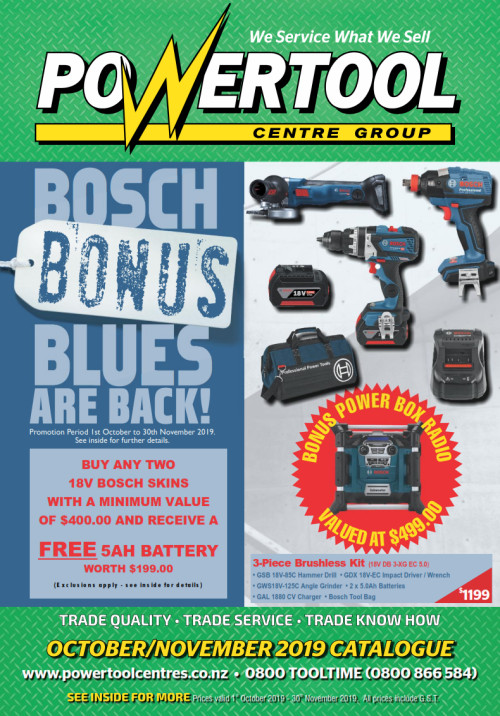 Powertool Centre Catalogue
