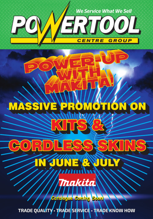 Power up with Makita