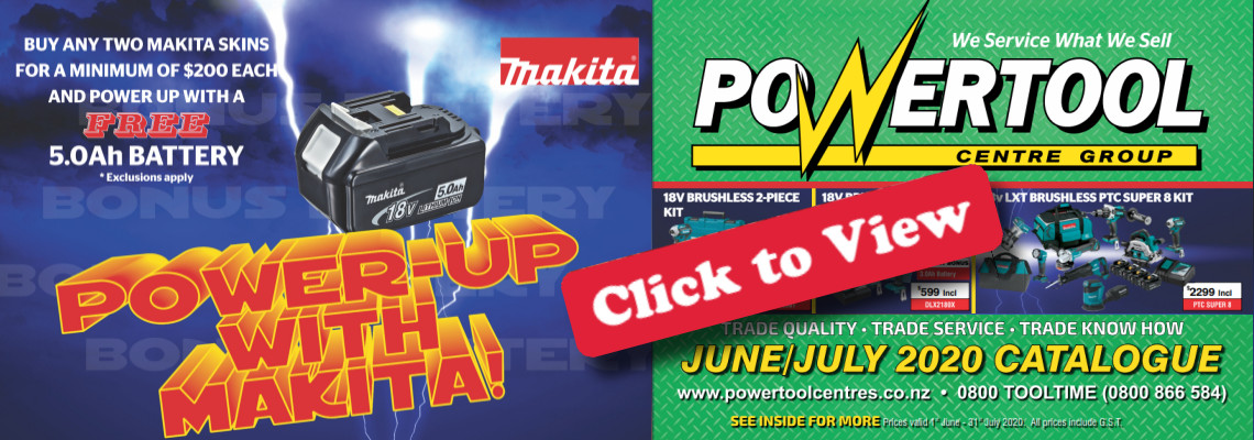 Makita battery promo - June/uly 2020