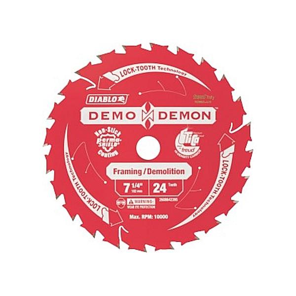 Diablo 2608642395 182x20-24T tungsten tip blade