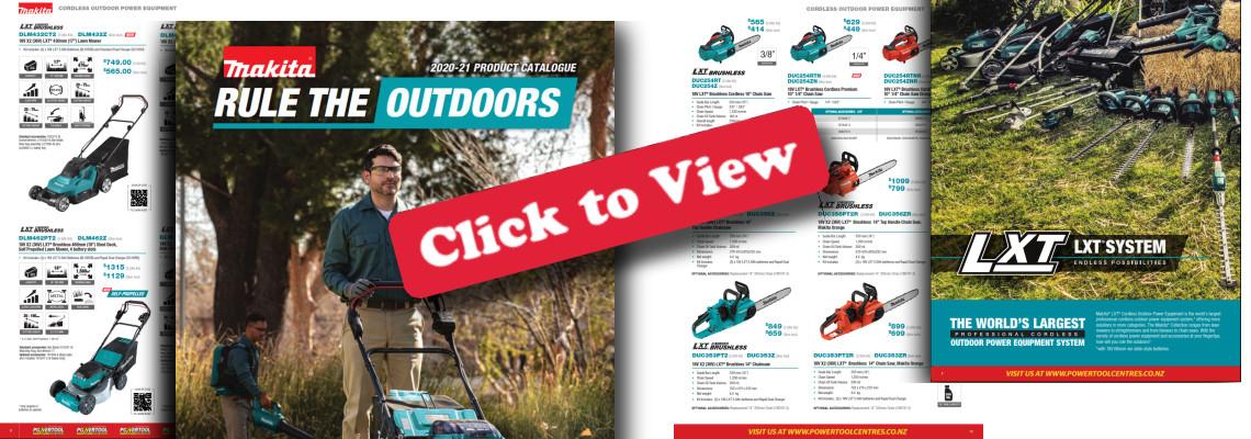 Makita Outdoors Catalogue